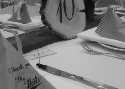 Table Setting Wests Wedding 576 768