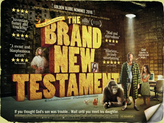 Sunset Cinema: The Brand New Testament – Friday 7th December, 7pm