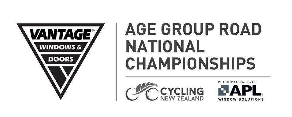 Vantage Age Group Road National Championships – 20th, 21st and 22nd April