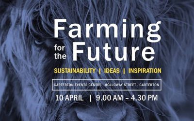 Farming for the Future Annual Seminar – Tuesday 10 April, 9am-4.30pm