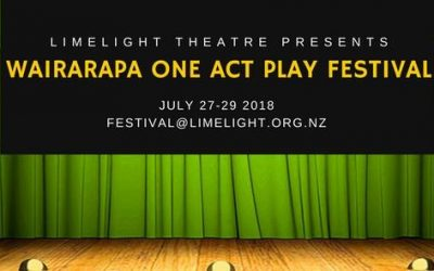 Wairarapa One Act Play Festival – 27th, 28th, 29th July
