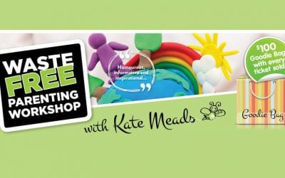Waste Free Parenting Workshop With Kate Meads – Tuesday 25 September 9:30am to 12:00pm
