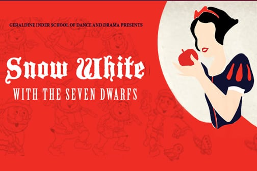 Snow White and the Seven Dwarfs – Saturday 20 October to Tuesday 23 October