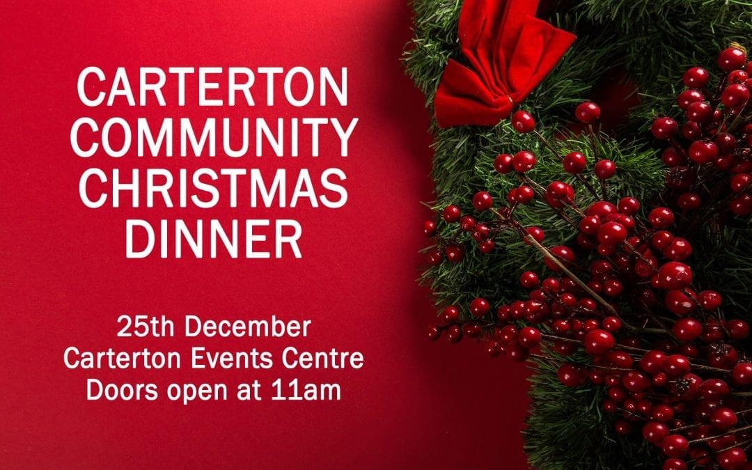 Carterton Community Christmas Dinner – Tuesday 25 December, 12 noon