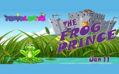 Pantoloons : The Frog Prince – Friday 11 January, 10:00am & 11:45am