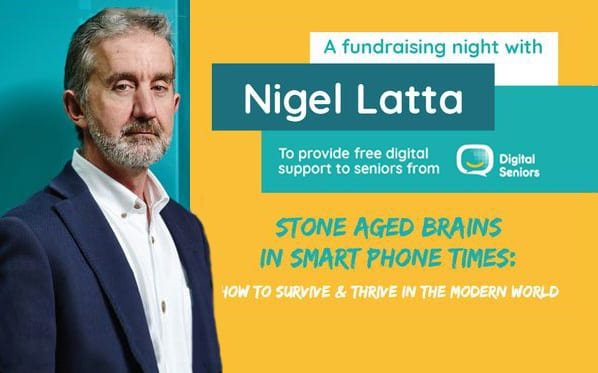 Nigel Latta: Stone Aged Brains in Smart Phone Times – Thursday 14 March, 6:45pm–9:00pm