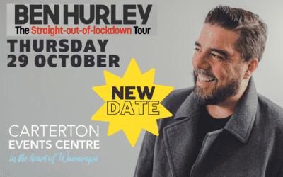 NEW DATE Ben Hurley – Straight out of Lockdown Tour – Thursday 29 October – 8:30pm