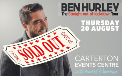 Ben Hurley – Straight out of Lockdown Tour – Thursday 20 August – 8:30pm