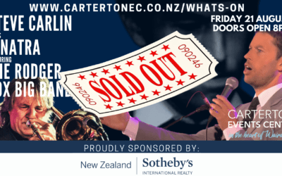 Steve Carlin sings Sinatra With the Rodger Fox Big Band – Friday 21 August