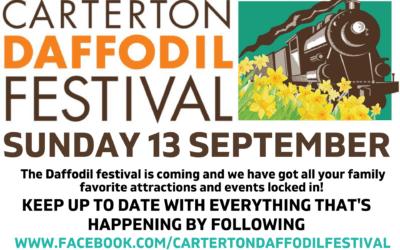 2020 Carterton Daffodil Festival – Sunday 13 September – 10am -3pm