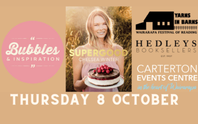 Bubbles & Inspiration – Chelsea Winter – Thursday 8 October – 6.15pm