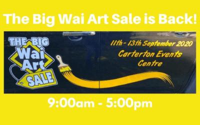 The Big Wai Art Sale – 11-13 September