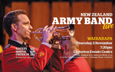 NZ Army Band Live – Thursday 5 November – 7.30pm