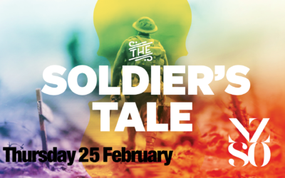 A Soldiers Tale – NZSO – Thursday 25 February 7.30pm