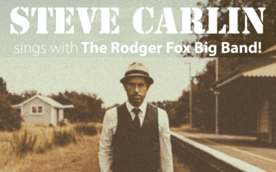 Steve Carlin sings with The Rodger Fox Big Band – Friday 9th July – 8.30pm