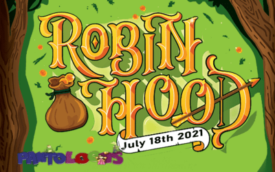 """The Pantoloons Present """"Robin Hood"""" – Sunday 18 July – 2pm"""