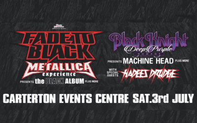 """Fade to Black"" Metallica Experience – Saturday 3 July – Doors Open 7pm"