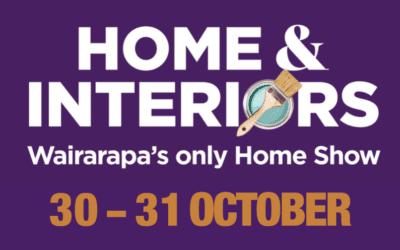 Home & Interiors Wairarapa – Saturday 30 – Sunday 31 October – 10am – 4pm