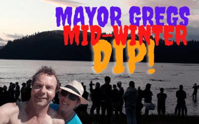 Mayor Greg's Midwinter Dip – Sunday 11 July – 1.30pm – Gladstone Inn