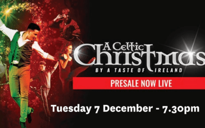 A Celtic Christmas – Tuesday 7 December – 7.30pm start