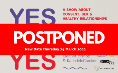 rescheduled – YES YES YES – Monday 20 September – 7pm