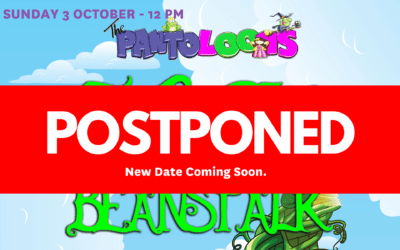 The Pantoloons Jack and the Beanstalk – Sunday 3 October – 12pm