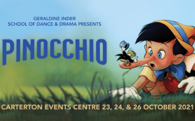 Pinocchio – By Geraldine Inder School of Dance and Drama  23, 24 & 26 October